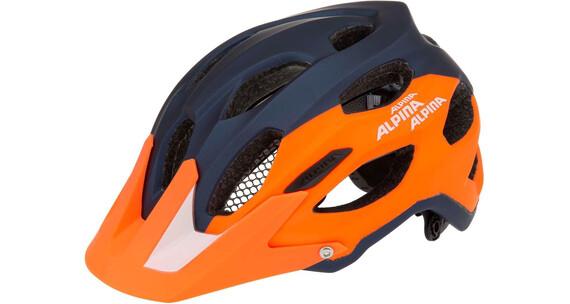 Alpina Carapax Helm blue-orange